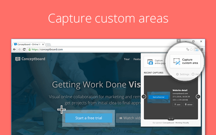 Full Page Screenshot Extension (Chrome) – Conceptboard Help